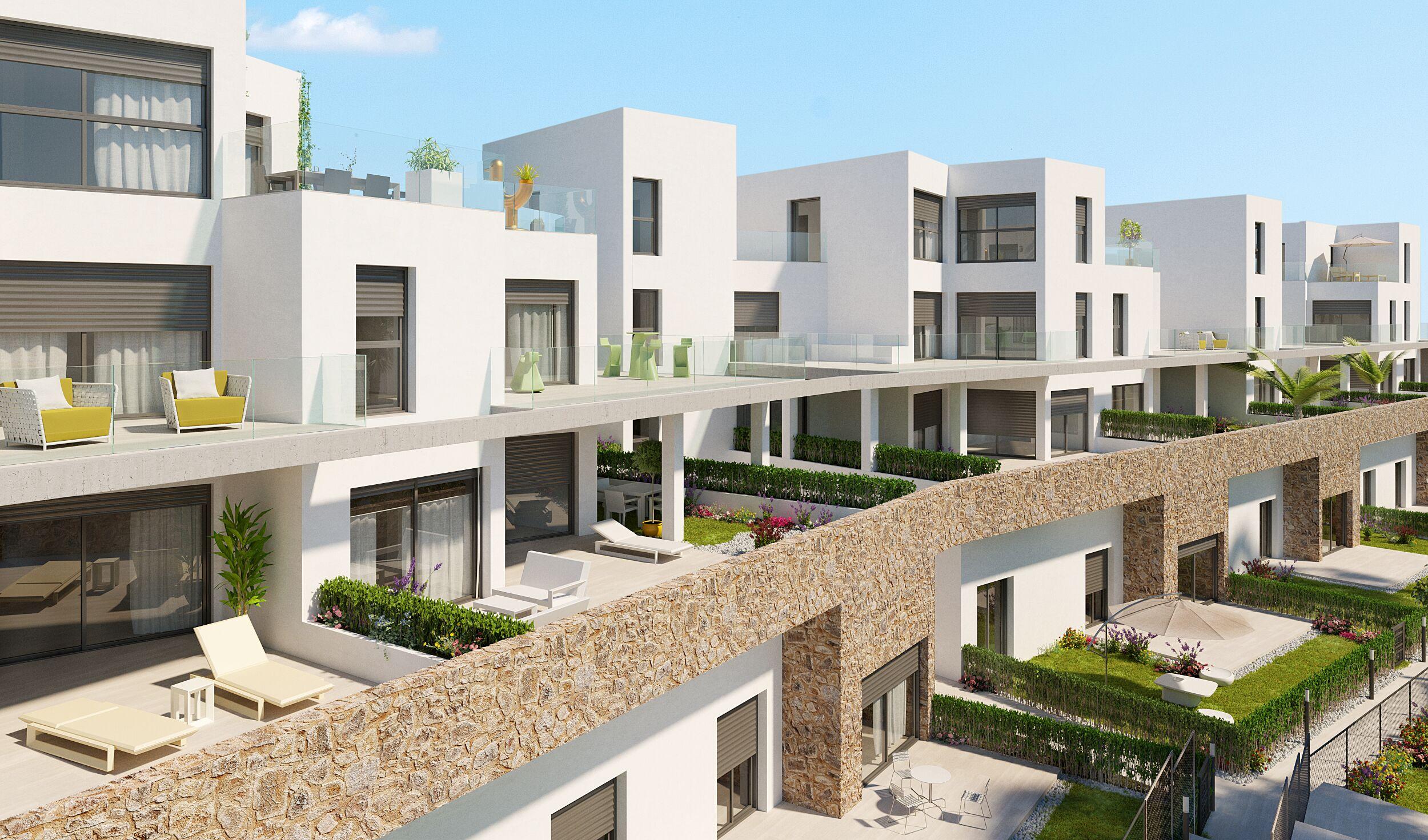 Nieuwe appartementen op goede locatie Orihuela Costa