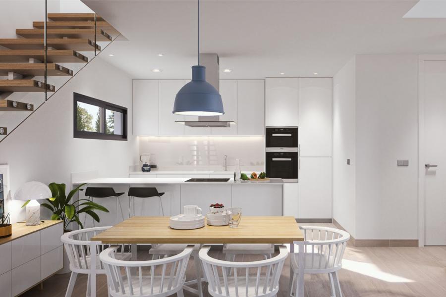Moderne villa 39 s nabij alle voorzieningen orihuela costa spanje specials - Moderne slaapkamer met kleedkamer ...