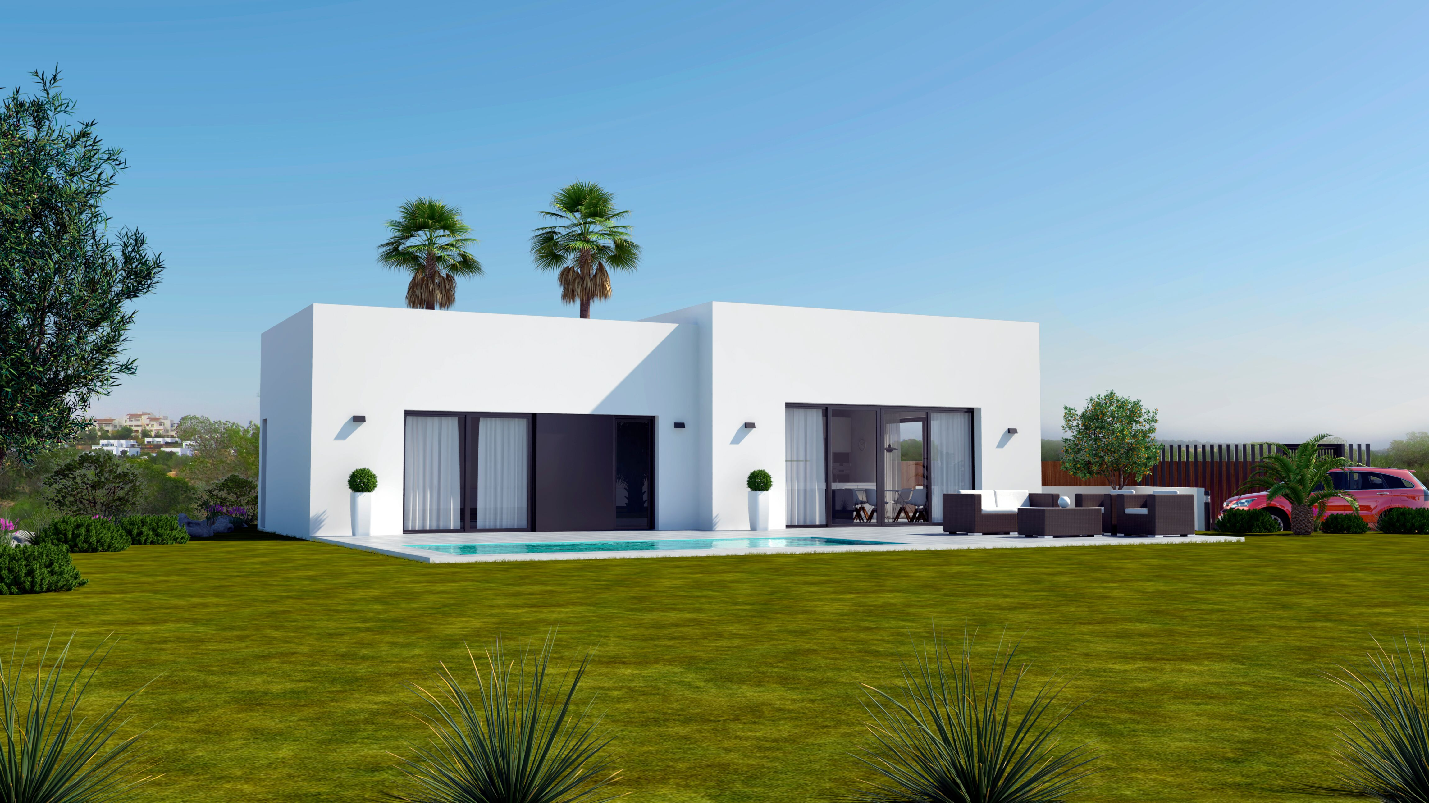 luxe bungalows op 5 golfresort las collinas orihuela costa spanje specials. Black Bedroom Furniture Sets. Home Design Ideas