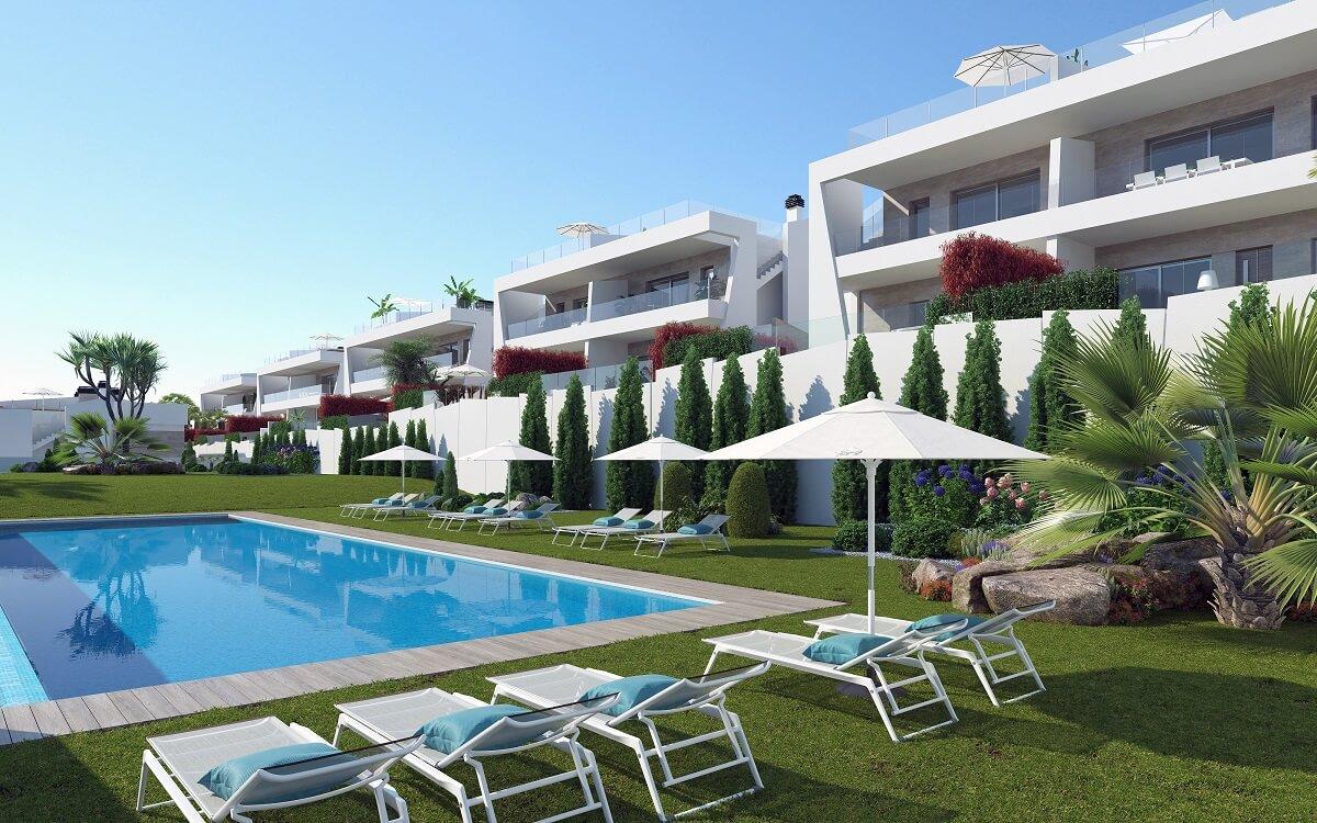 Moderne appartementen met zeezicht Costa Blanca
