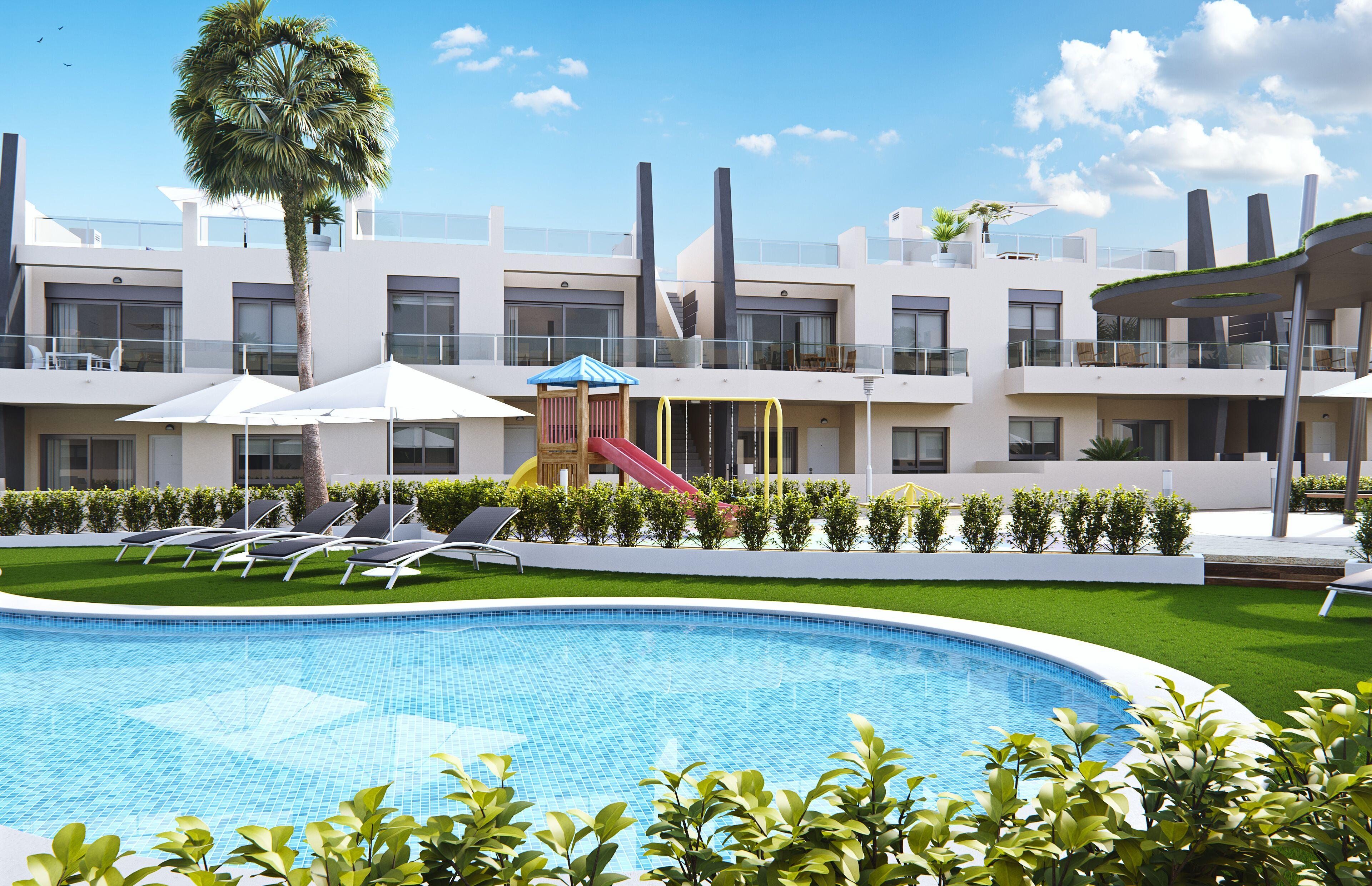 Moderne appartementen op 300 meter van zee Orihuela Costa