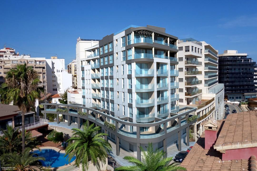 Calpe nieuwe zeezicht appartementen