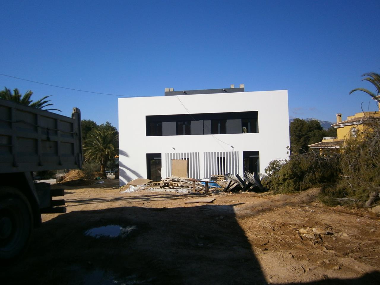 Moderne nieuwbouw woningen op goede locatie in albir spanje specials - Moderne wasruimte ...