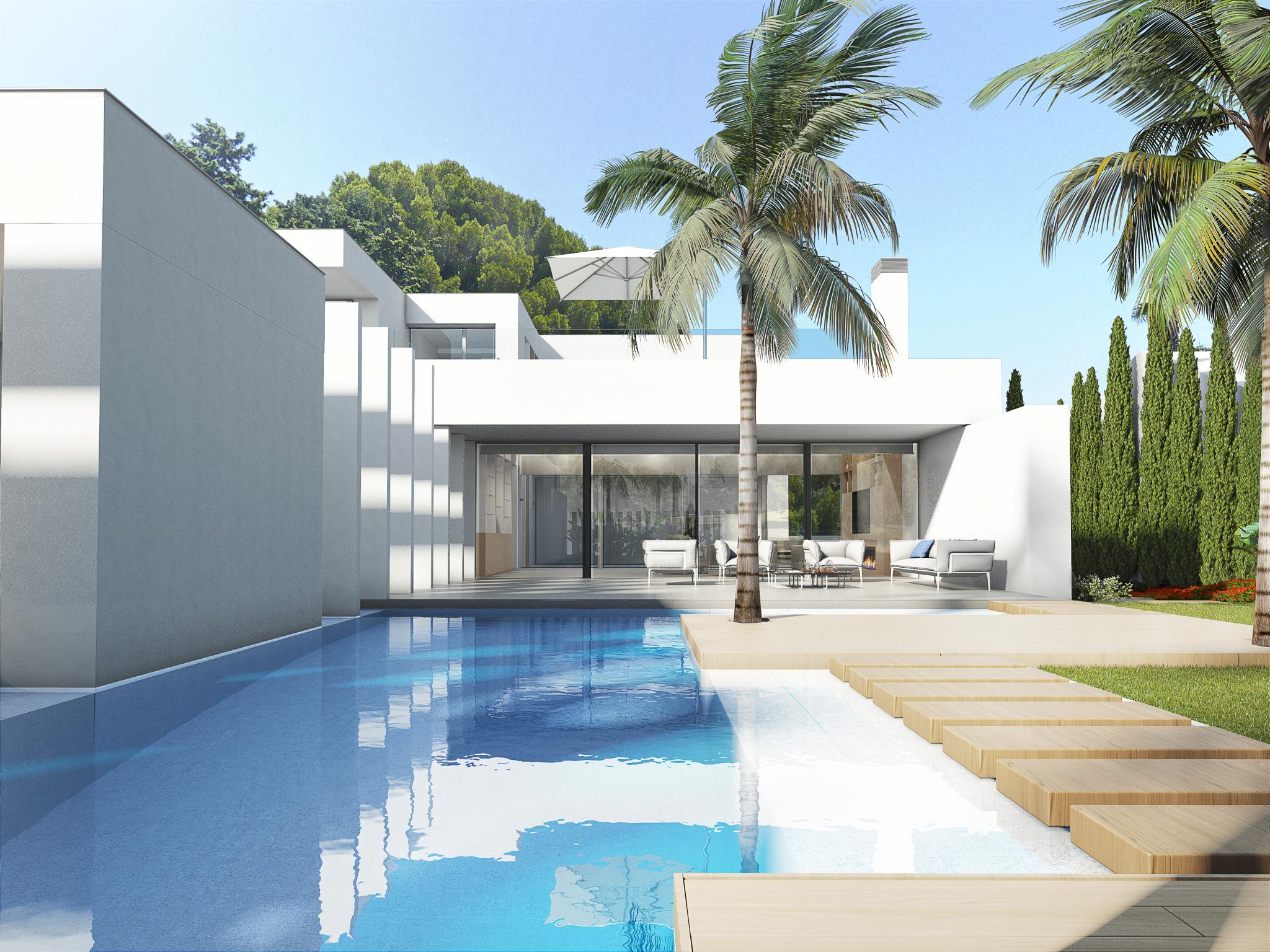 Luxe moderne villa orihuela costa costa blanca spanje for Moderne luxe villa