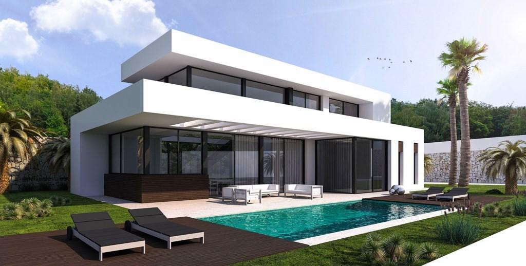 Moderne nieuwe villa in benissa spanje specials for Modernes haus villa