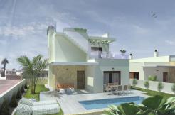Half vrijstaande villa's privé zwembad Costa Blanca Zuid
