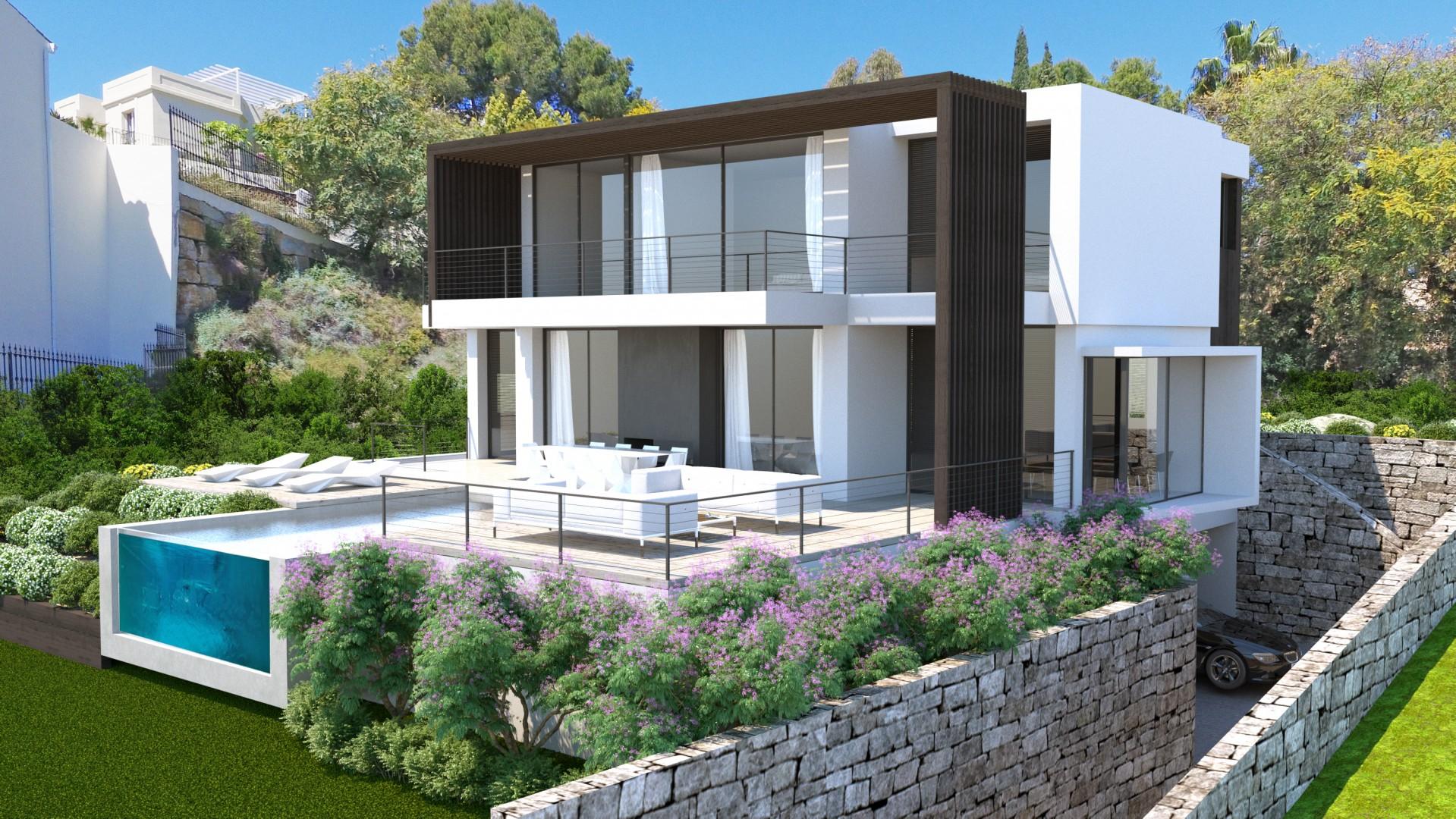 Moderne luxe villa 39 s in la quinta benahavis spanje specials for Moderne luxe villa