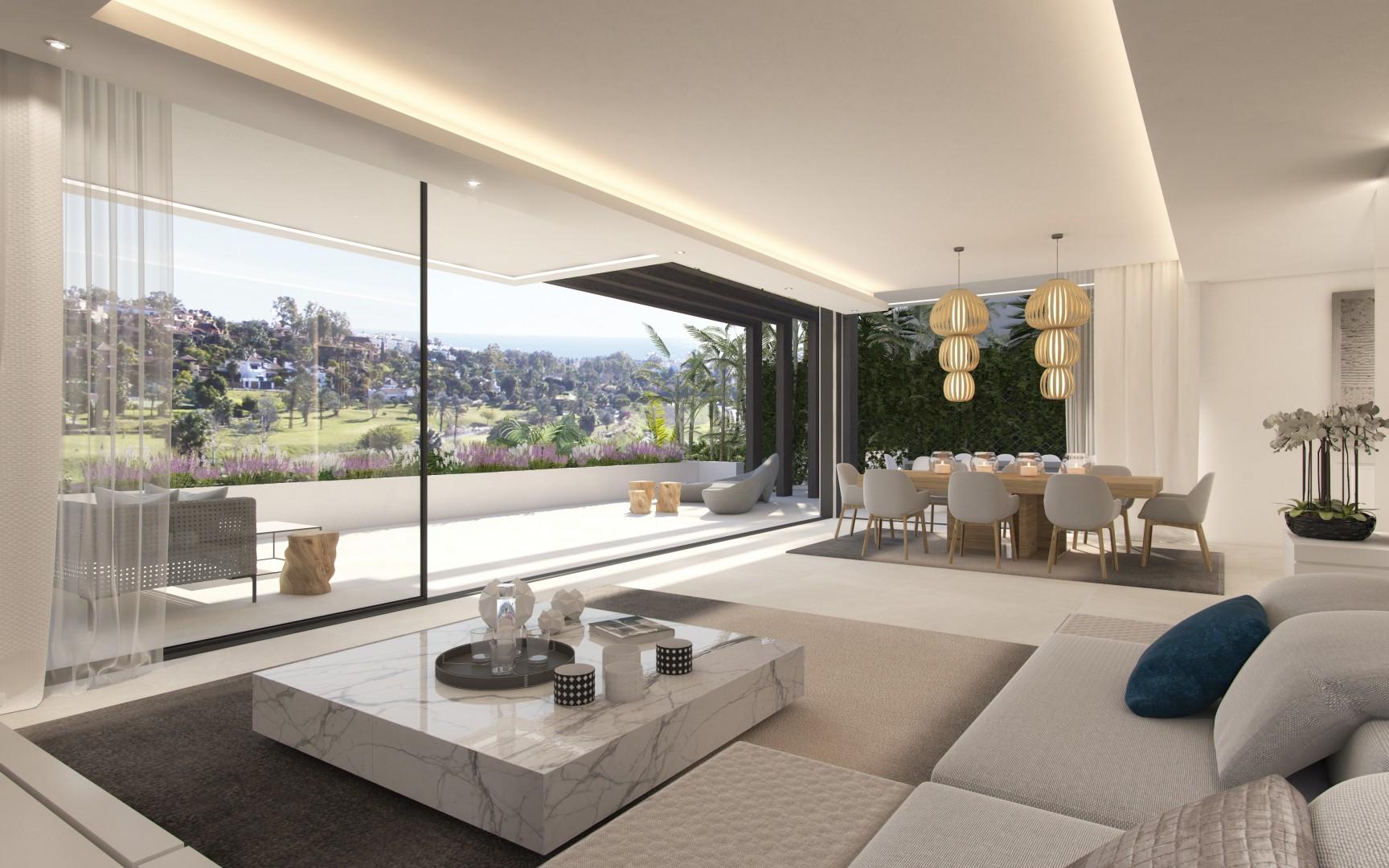 Moderne Villa U0026 39 S Op Golfresort New Golden Mile Estepona