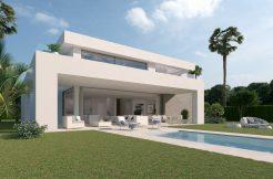 Moderne villa's Cala de Mijas marbella spanje