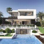 Moderne villa's golfresort New Golden Mile Estepona