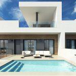 Moderne geschakelde woningen Rojales costa blanca