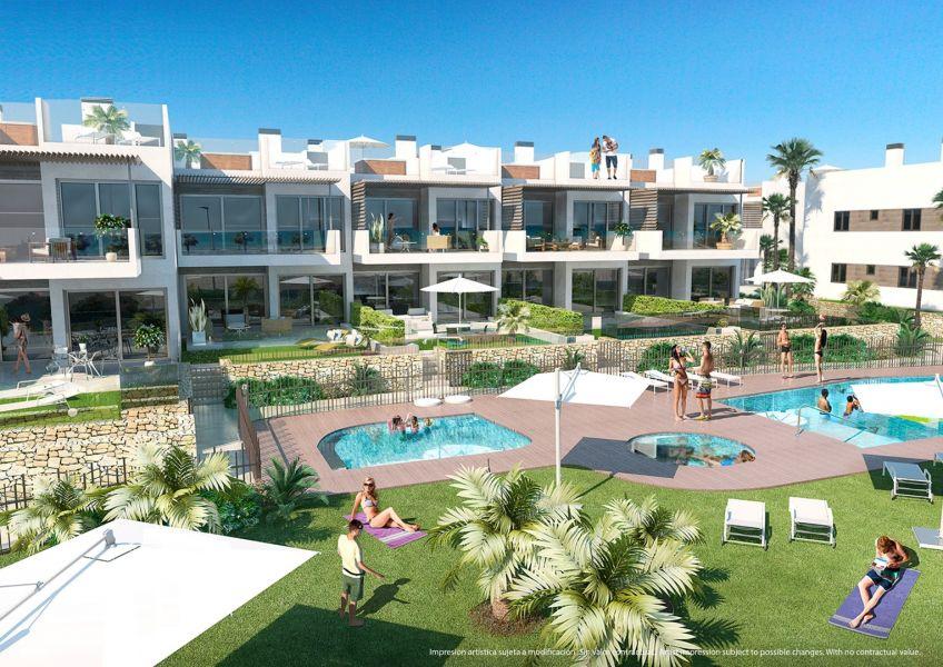 Moderne strand appartementen Mil Palmeras Costa Blanca