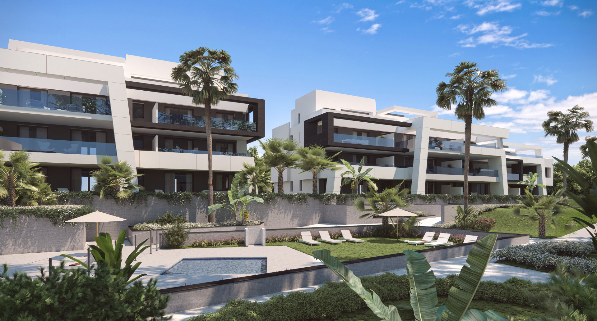 Moderne appartementen op de New Golden Mile Estepona