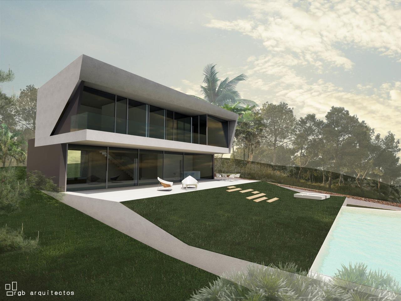 Moderne villa met prachtig uitzicht in Benissa