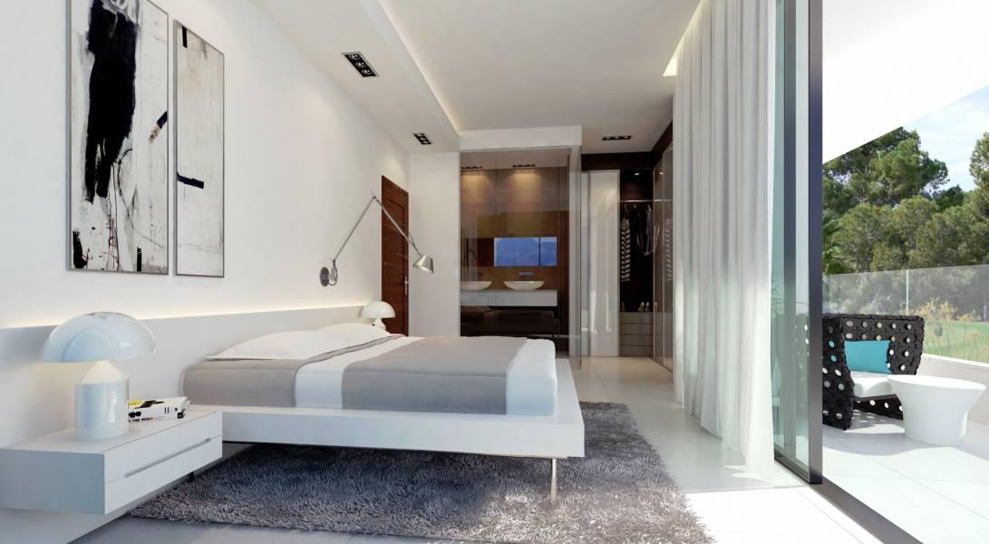 Mooie luxe villa 39 s met prachtig uitzicht la zenia for Ville arredate moderne