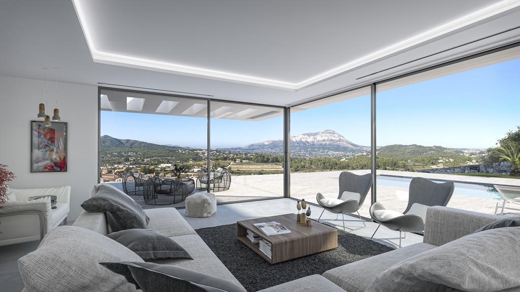 moderne luxe villa in javea spanje specials. Black Bedroom Furniture Sets. Home Design Ideas