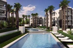 Moderne appartementen golf Villamartin