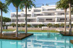 moderne golf appartementen met zeezicht las collinas orihuela costa