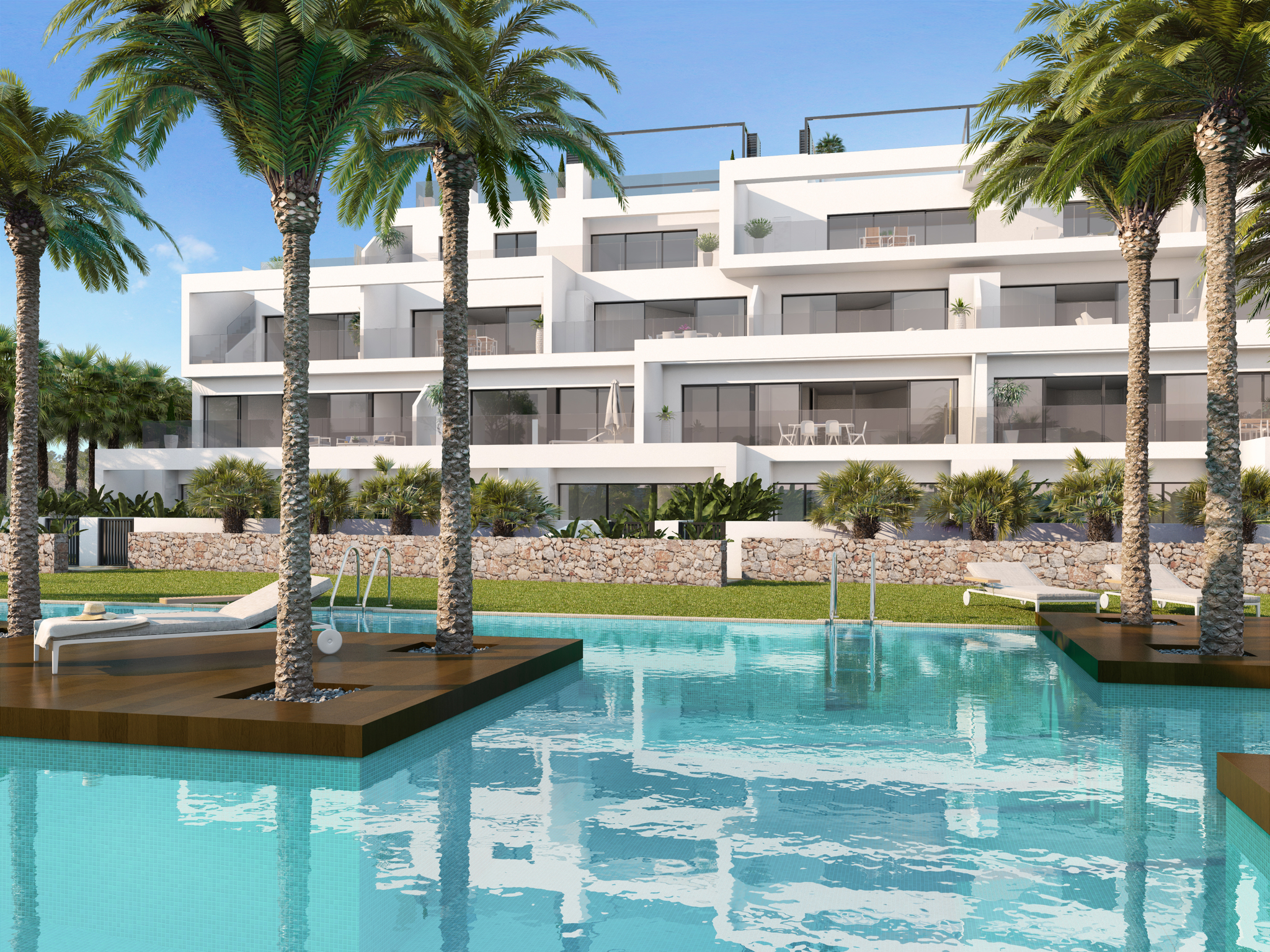 Moderne appartementen met zeezicht Orihuela Costa