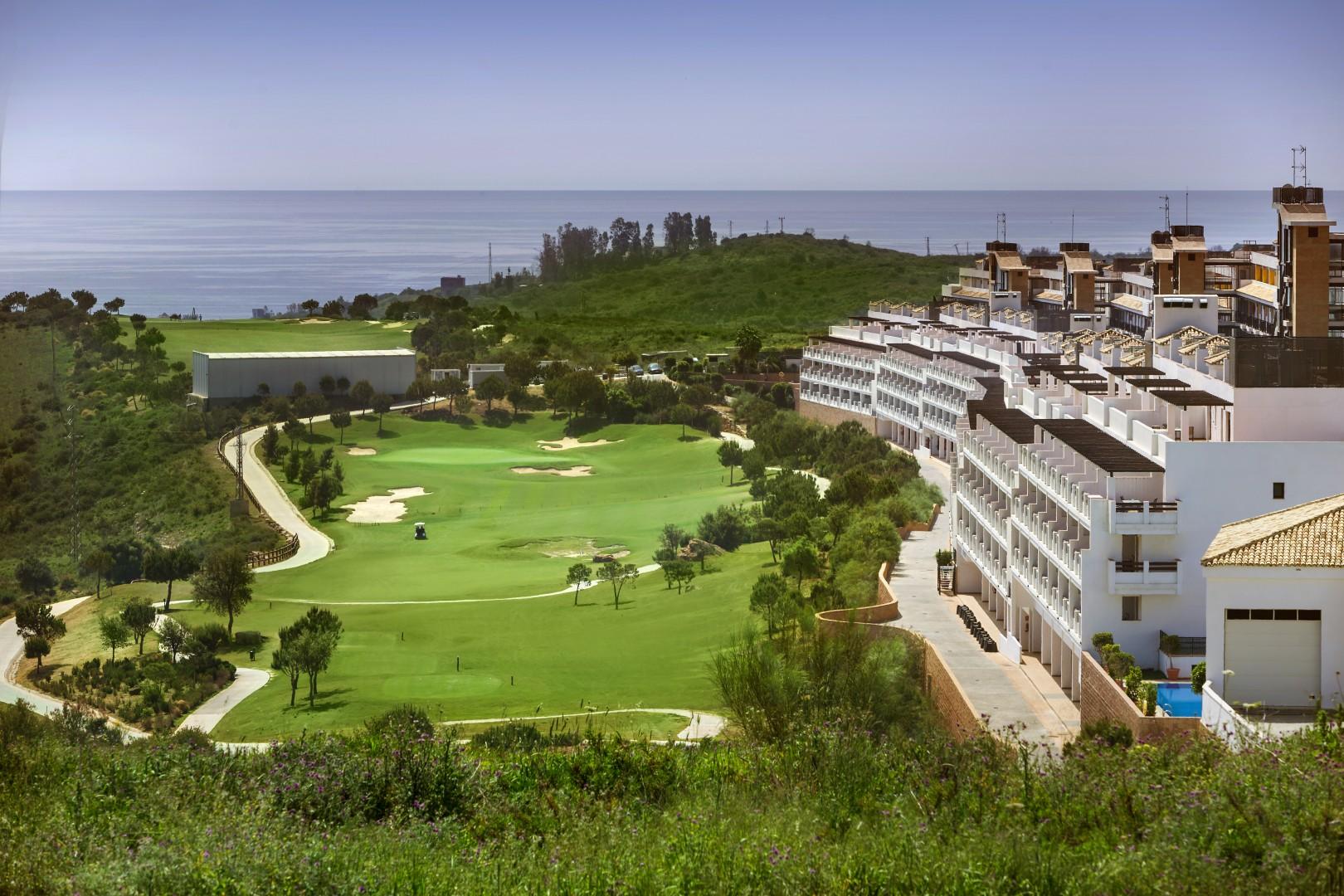Appartementen met 4 sterren hotel diensten in Estepona