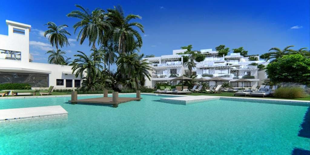 Nieuwe eigentijdse stijl appartementen La Cala de Mijas