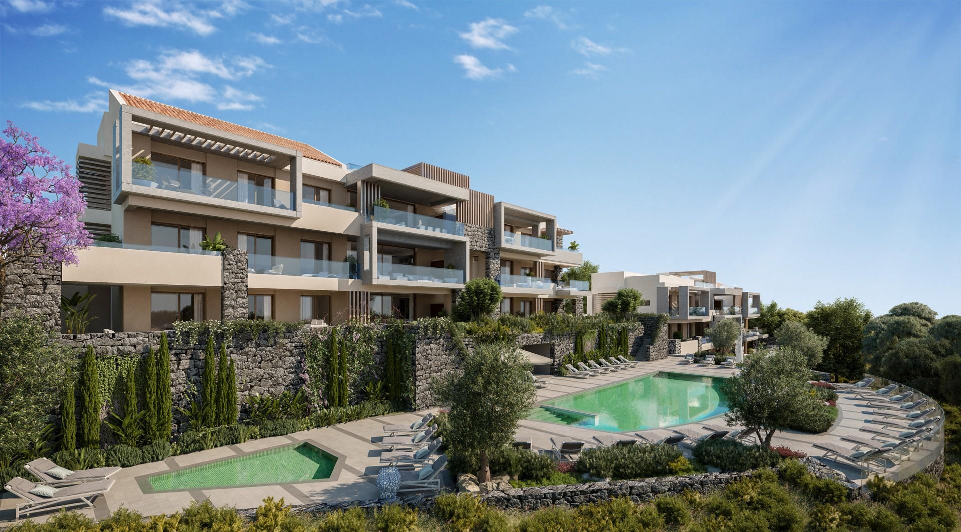 moderne appartementen La Quinta golf Benahavis Marbella Costa del Sol