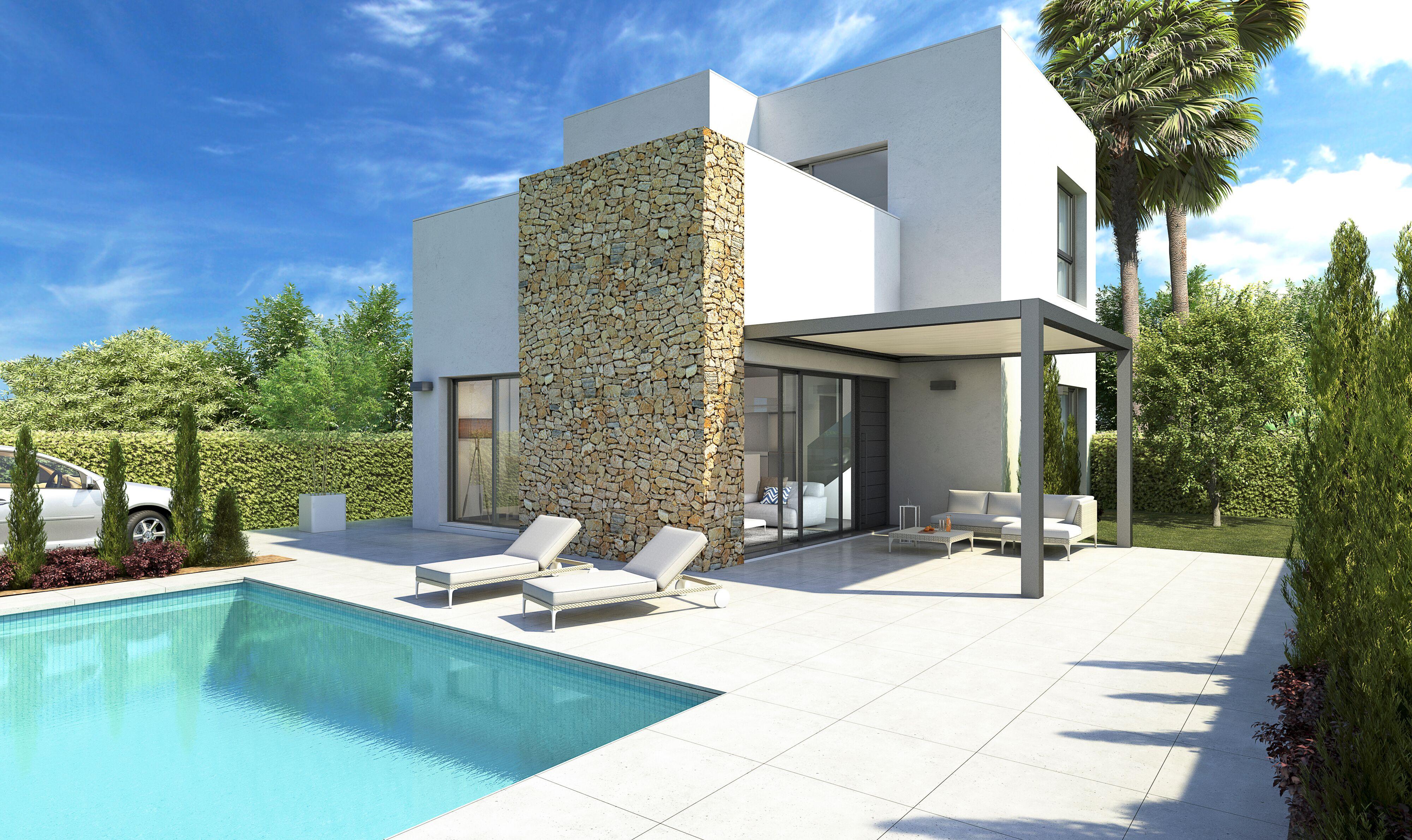 Moderne villa's met privé zwembad in Ciudad Quesada