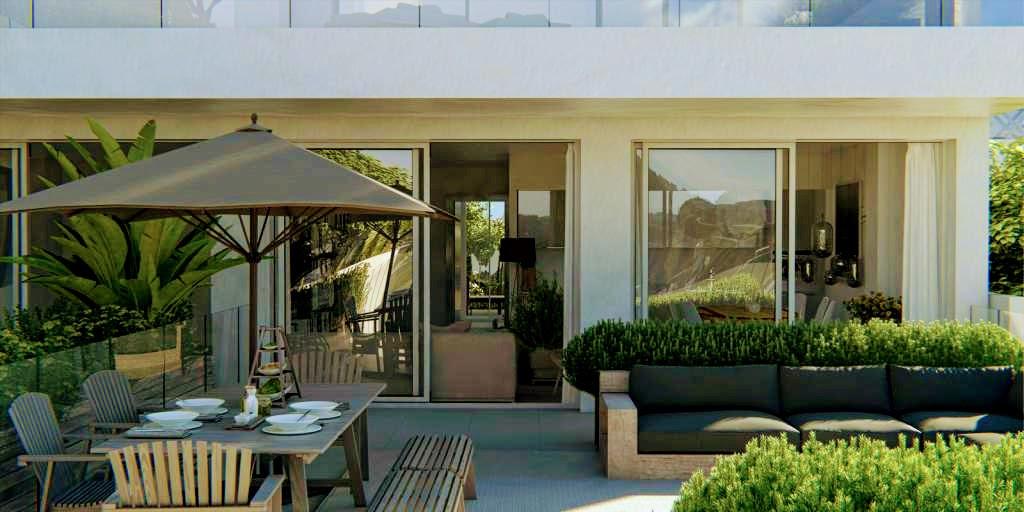 Nieuwe eigentijdse stijl appartementen la cala de mijas spanje specials - Eigentijdse stijl slaapkamer ...