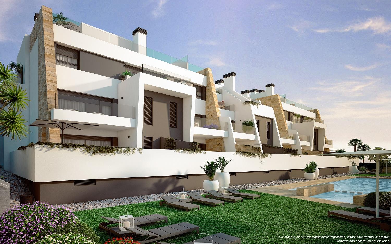Moderne luxe appartementen in Villamartin