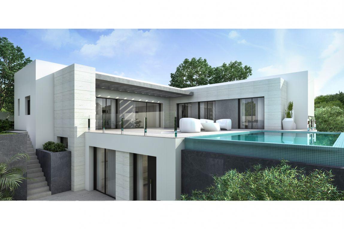 Moderne luxe villa 39 s in moraira spanje specials - Foto moderne villa ...