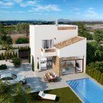 Nieuwe villa Guadamar Costa Blanca Zuid