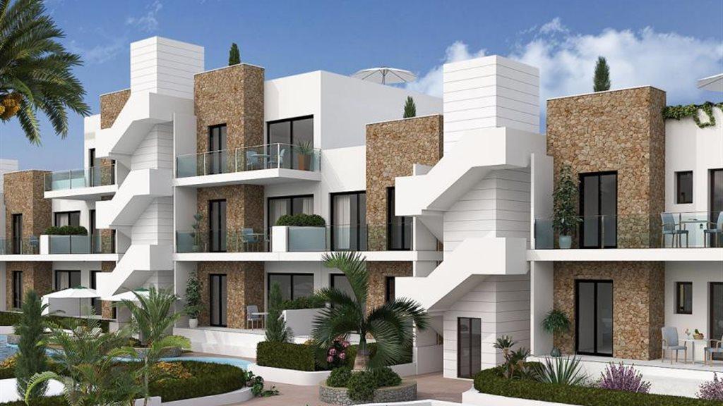 Moderne appartementen aan boulevard van Gran Alacant