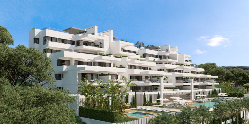 Moderne zeezicht appartementen Estepona costa del sol
