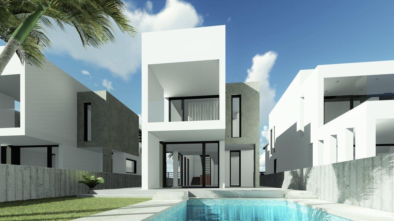 Moderne woningen op 250 meter van het strand spanje specials for Moderne laagbouw woningen