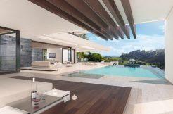 Moderne eerstelijns golfvilla La Alqueria Benahavis