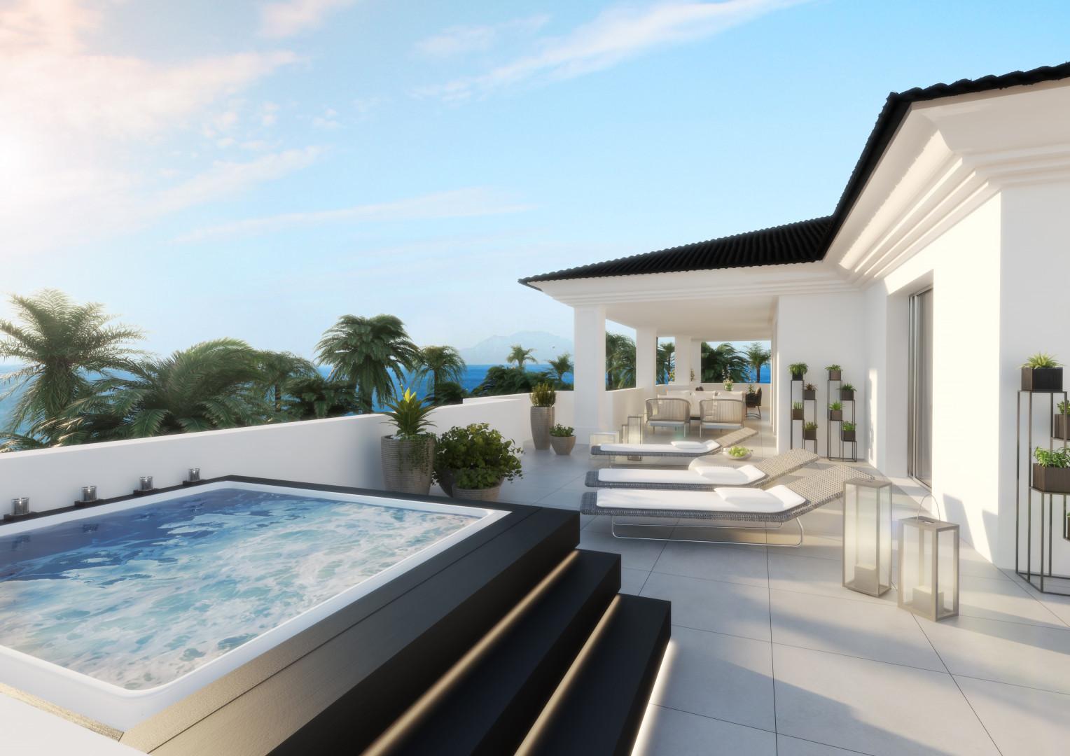 Moderne luxe appartementen in Estepona