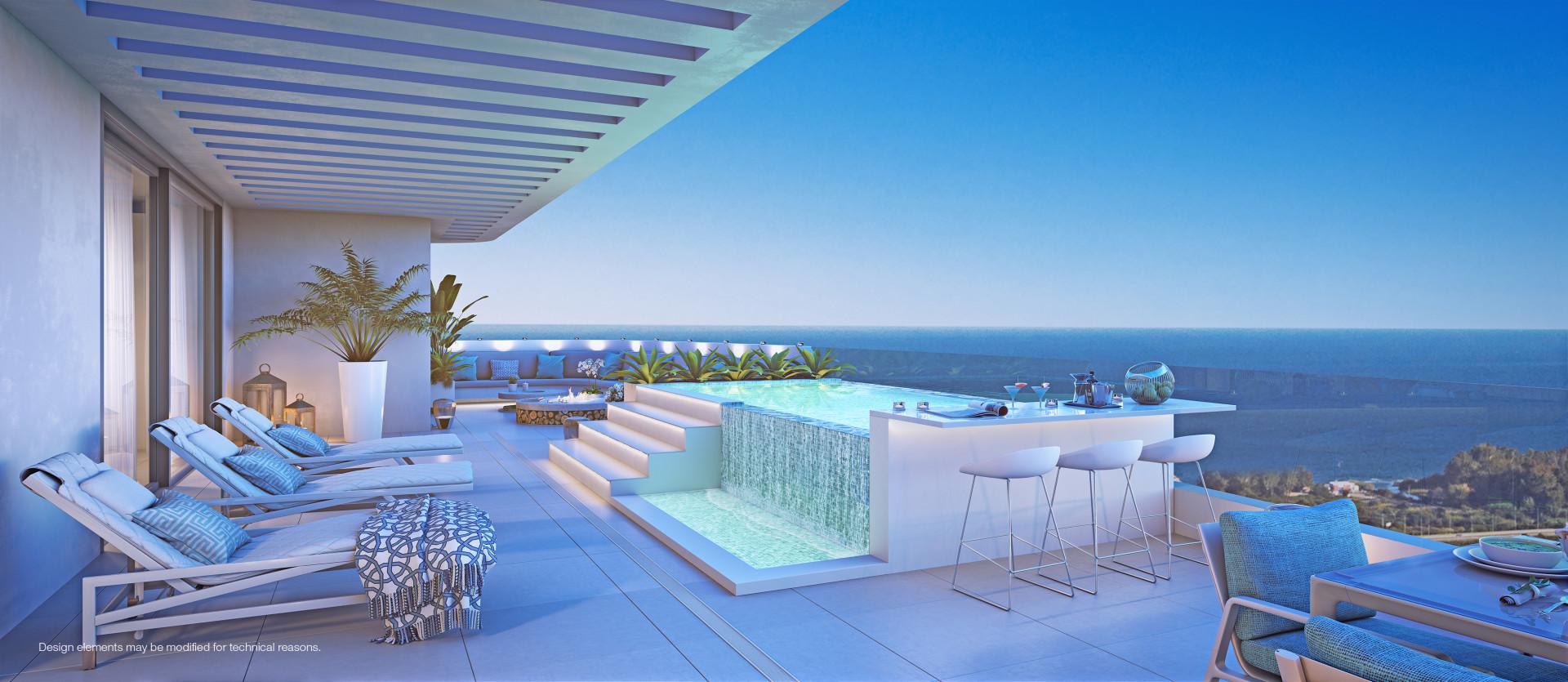 Luxe zeezicht appartementen in Benalmadena