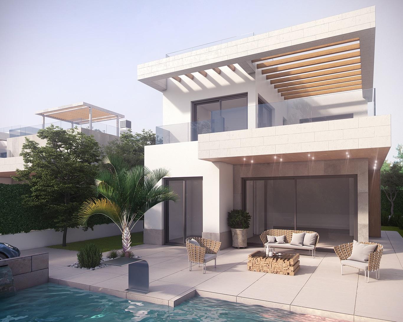 Moderne luxe villa 39 s op goede locatie costa blanca for Moderne luxe villa