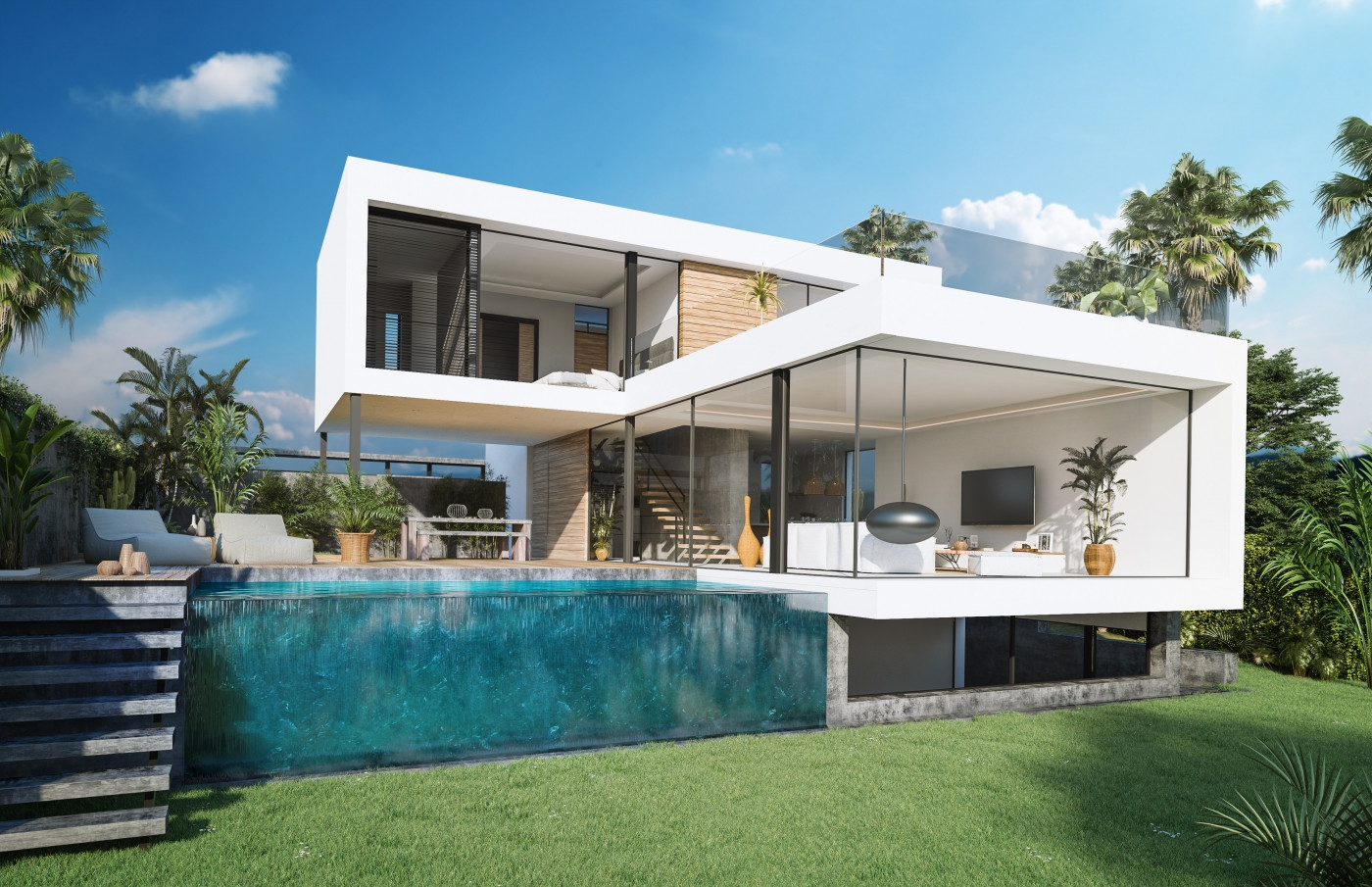 moderne villa's new Golden Mile estepona costa del sol