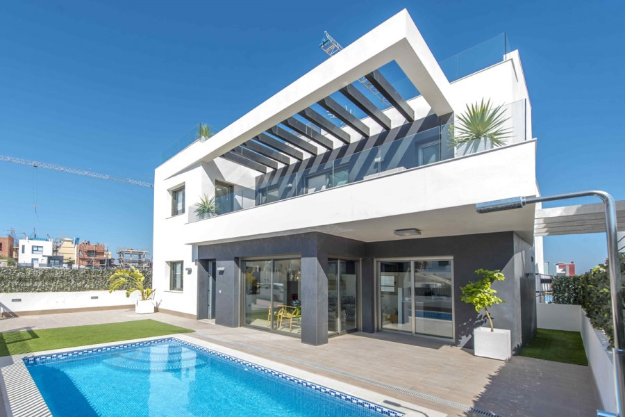 Moderne Luxe Villa S Op Goede Locatie In Villamartin Orihuela Costa