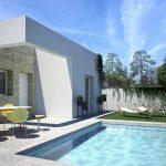 moderne bungalows zwembad Quesada