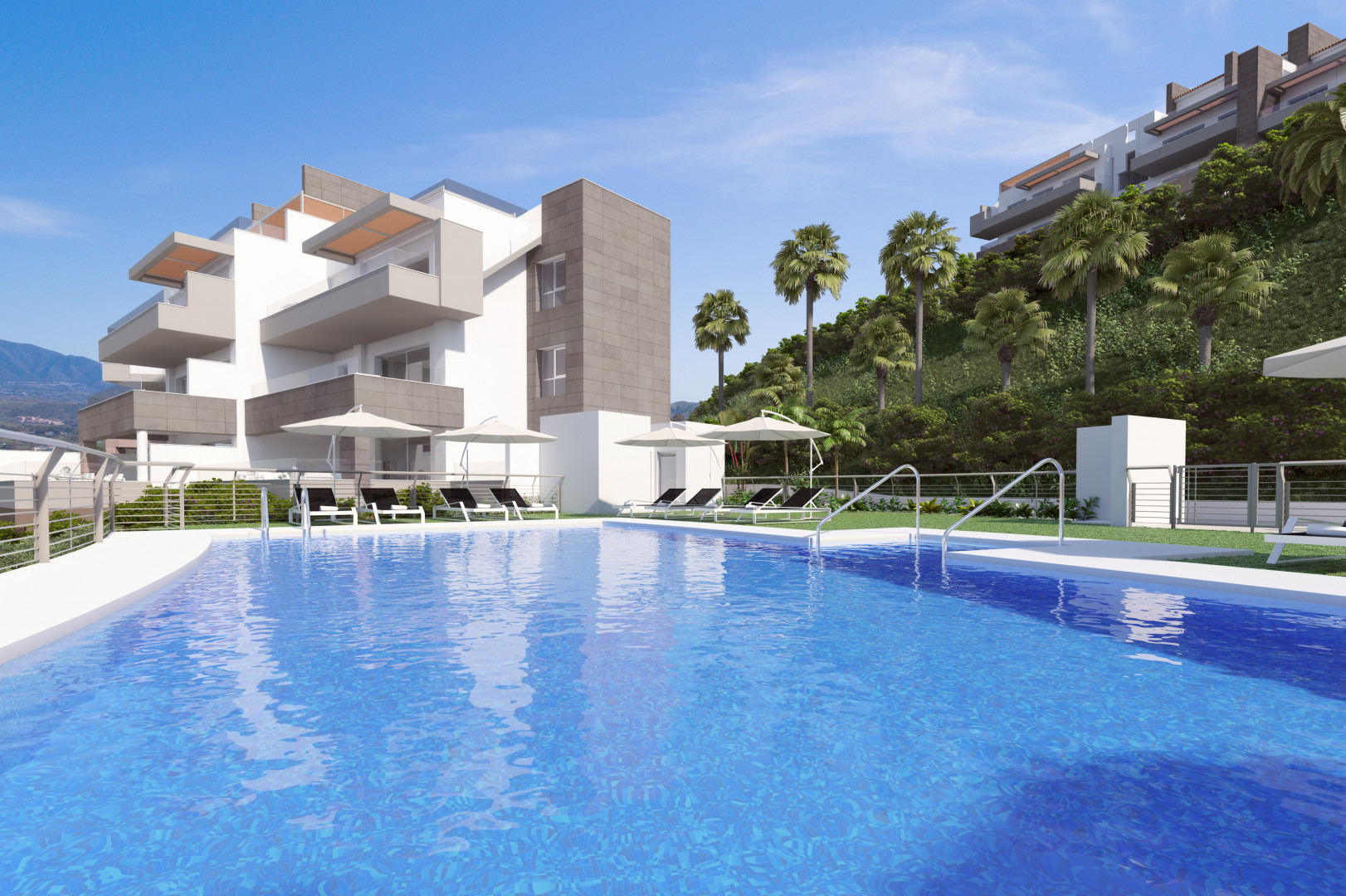 Moderne golf woningen in Mijas Costa costa del sol