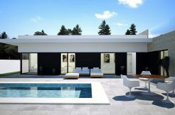 moderne bungalows Cuidad Quesada