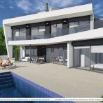 Moderne luxe zeezicht villa Altea Costa Blanca