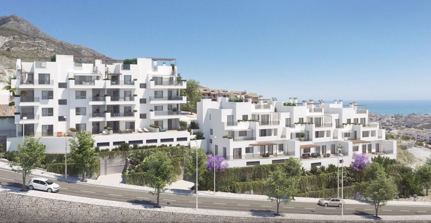 Zeezicht appartementen in Benalmadena Pueblo costa del sol spanje