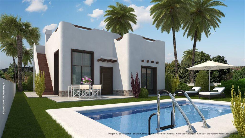Moderne vrijstaande villa's Costa Blanca Zuid