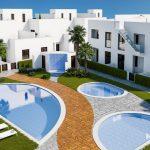 Strand appartementen geschakelde woningen Torre de la Horadada