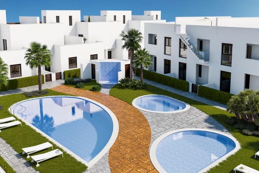 Strand appartementen en geschakelde woningen Torre de la Horadada