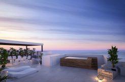 moderne strand appartementen benalmadena spanje