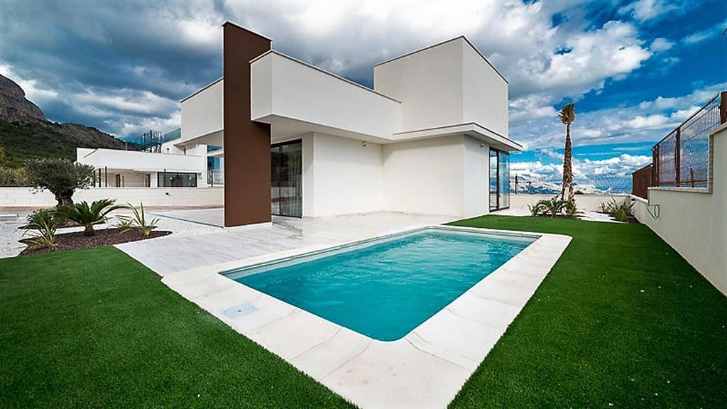 Moderne vrijstaande villa's in Polop